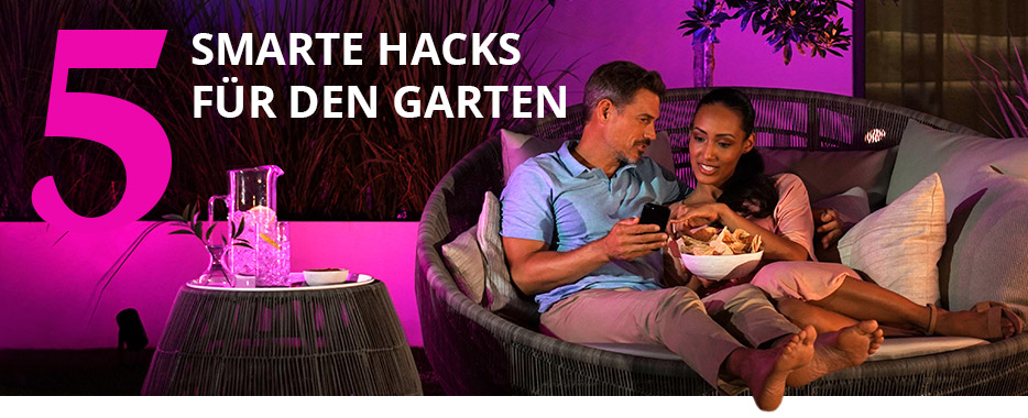 5 Smarte Hacks für den Garten