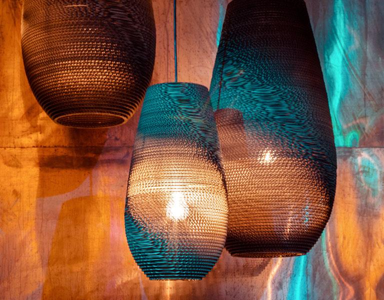 Nachhaltige Leuchten