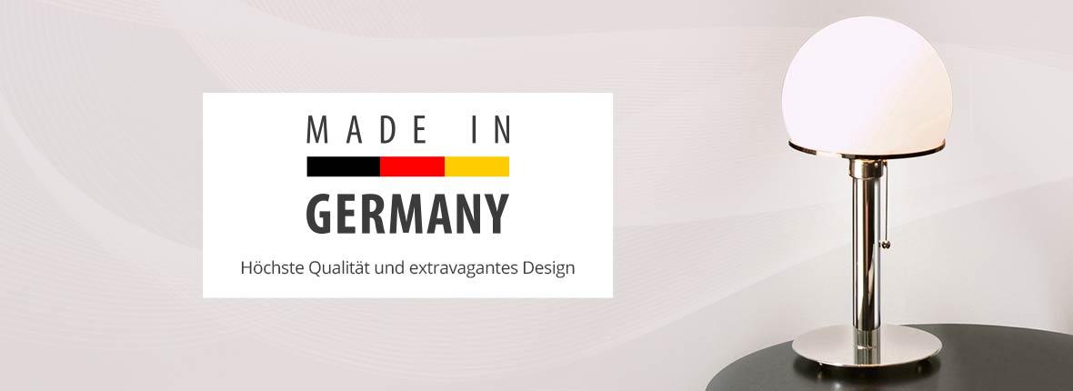 Lampen und Leuchten Made in Germany