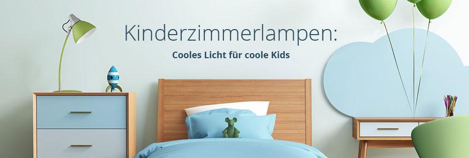 Kinderzimmerlampen -  cooles Licht für coole Kids