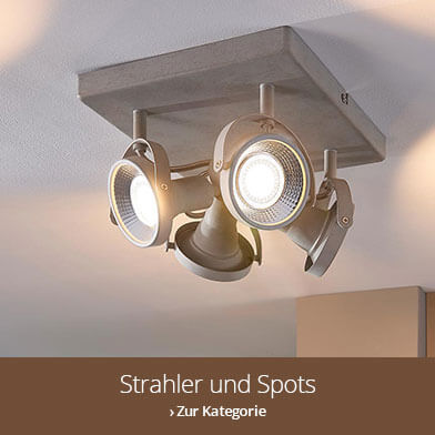 Industrielles Design - Strahler und Spots