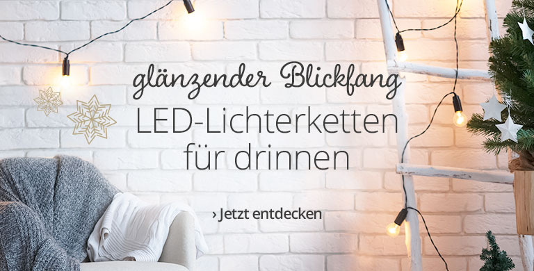 LED-Lichterketten innen