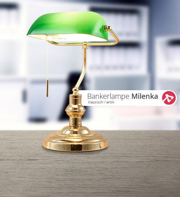 Bankerlampe Milenka