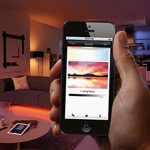 App Vorteil - Bedienung via Smartphone