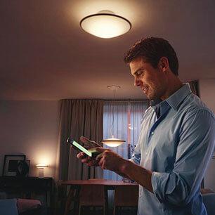 App Vorteil - Licht-Einstellungen regulieren