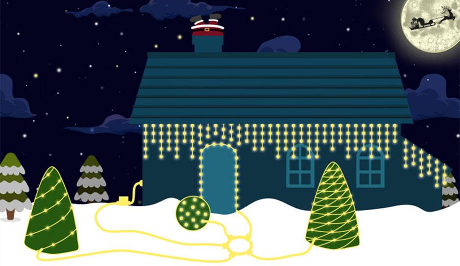 Weihnachtsbeleuchtung Für Balkongeländer.Weihnachtsbeleuchtung Lampenwelt De